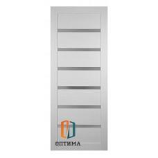 Межкомнатная дверь   Модель №7 белая лиственница