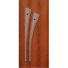 Межкомнатная ламинированная дверь 4С4ф итальянский орех
