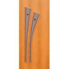 Межкомнатная ламинированная дверь 4С4ф миланский орех