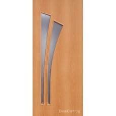 Межкомнатная ламинированная дверь 4С4 миланский орех