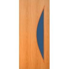 Межкомнатная ламинированная дверь 4С5 миланский орех