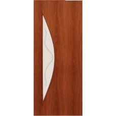 Межкомнатная ламинированная дверь 4С5ф итальянский орех