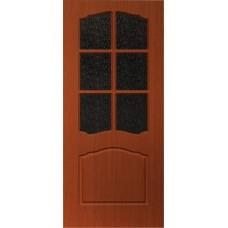 Межкомнатная дверь с ПВХ-пленкой Альфа ПО итальянский орех