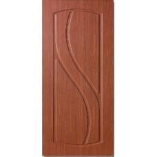 Межкомнатная дверь с ПВХ-пленкой Лаура ПГ итальянский орех