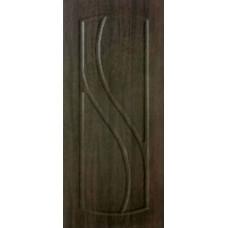 Межкомнатная дверь с ПВХ-пленкой Лаура ПГ венге