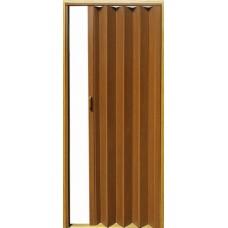 Раздвижная глухая дверь с мягким соединением, цвет вишня