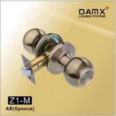 Ручка защелка (шариковая) DAMX   Z1 Бронза (AB)