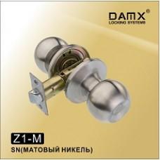 Ручка защелка (шариковая) DAMX   Z1 Матовый никель (SN)