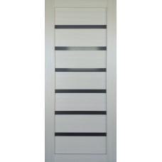 Межкомнатная дверь с ПВХ-пленкой  PV-7  дуб молочный
